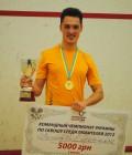 Николай Иванов, Чемпион Украины 2012 по сквошу
